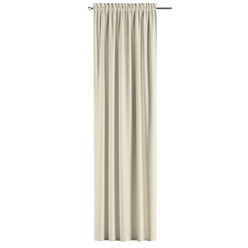 Slot and frill curtains in collection Posh Velvet, fabric: 704-10