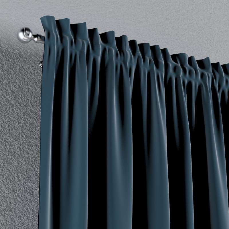 Vorhang mit Tunnel und Köpfchen 1 Stck. von der Kollektion Posh Velvet, Stoff: 704-16