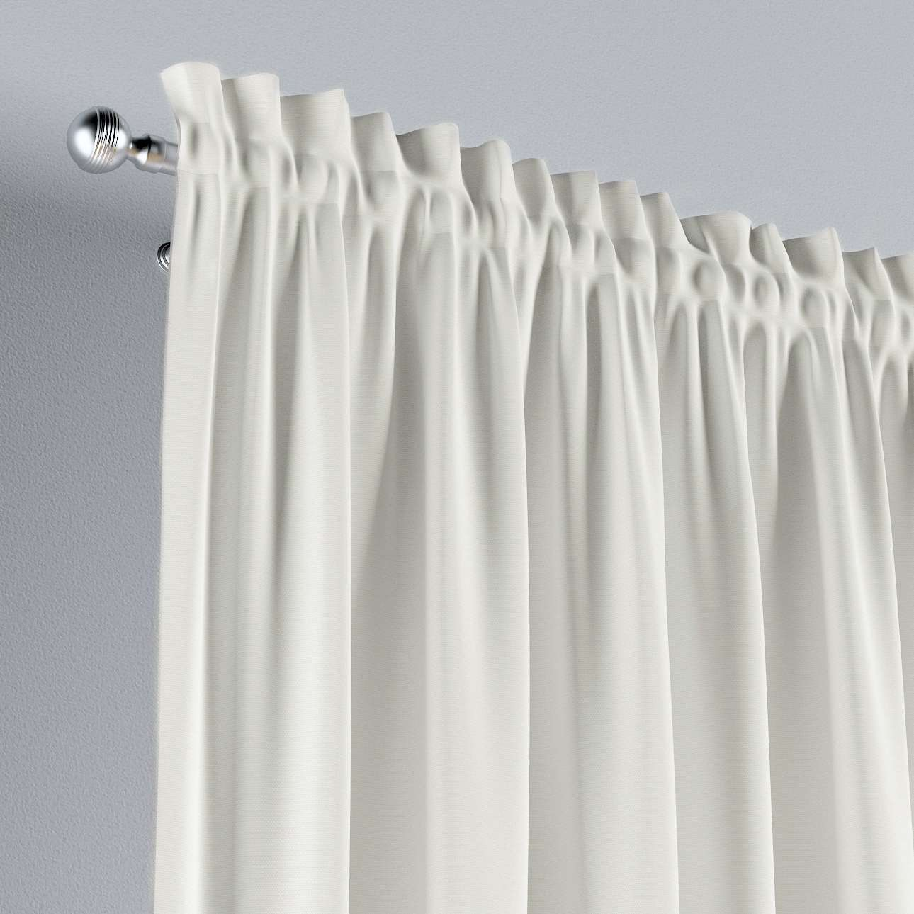 Slot and frill curtains in collection Cotton Story, fabric: 702-34
