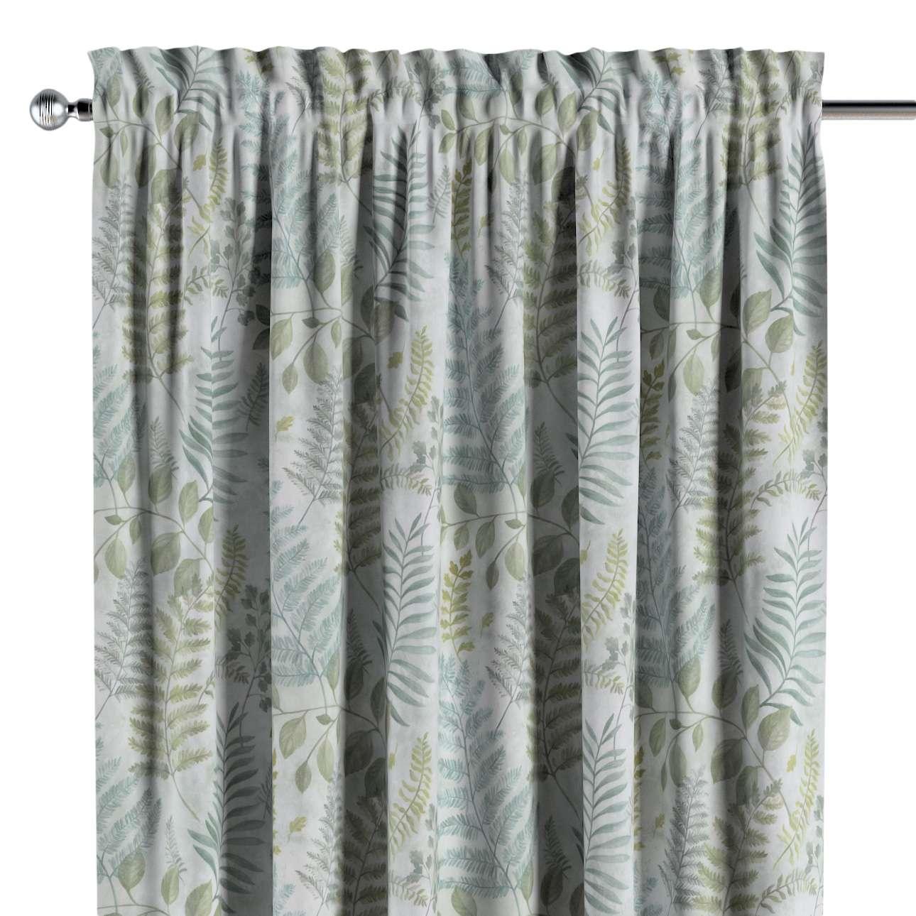 Záves s navliekacou riasiacou páskou V kolekcii Tropical Island, tkanina: 142-46