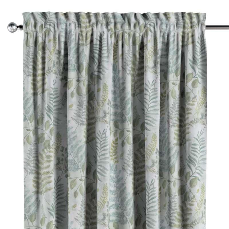 Záves s navliekacou riasiacou páskou V kolekcii Pastel Forest, tkanina: 142-46
