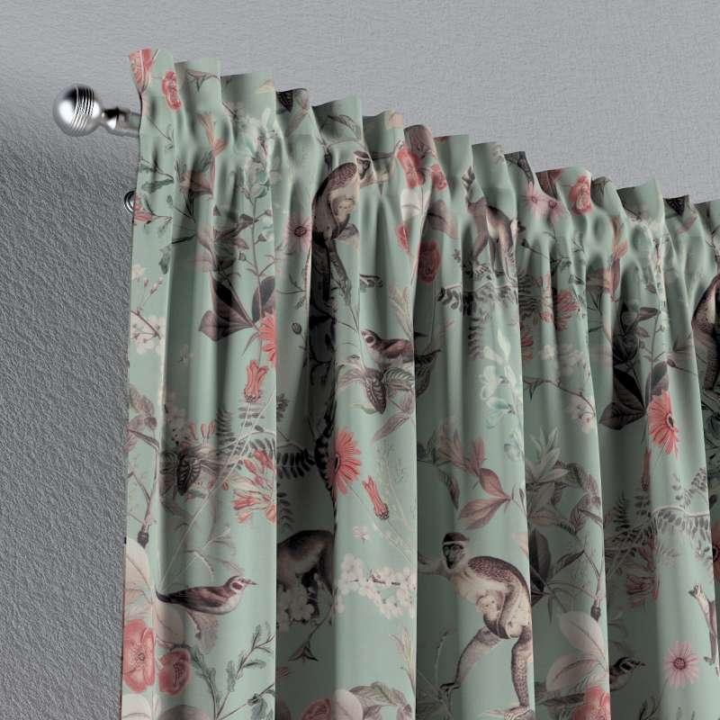 Záves s navliekacou riasiacou páskou V kolekcii Tropical Island, tkanina: 142-62