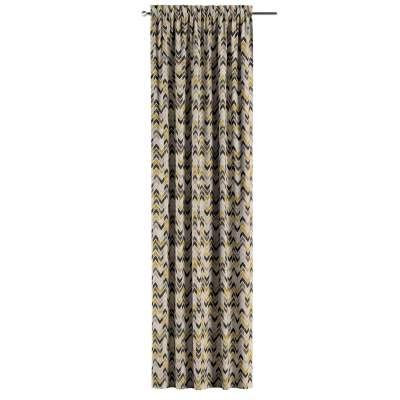 Zasłona na kanale z grzywką 1 szt. w kolekcji Modern, tkanina: 142-79