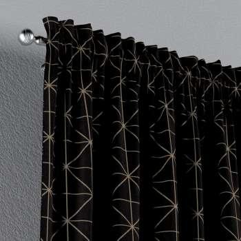 Gardin med løbegang - multibånd 1 stk. fra kollektionen Black & White, Stof: 142-55