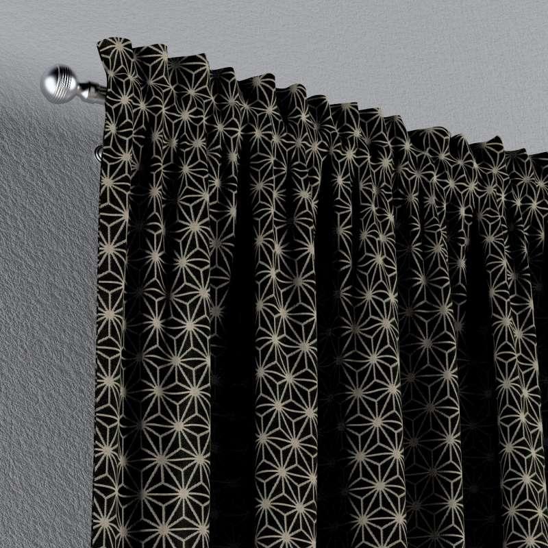 Verho nauhakujalla mallistosta Black & White, Kangas: 142-56