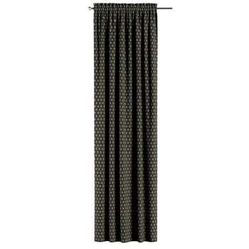 Gardin med kanal - Multiband 1 längd i kollektionen Black & White, Tyg: 142-56