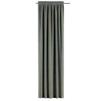 Gardin med løbegang - multibånd 1 stk. fra kollektionen Black & White, Stof: 142-77