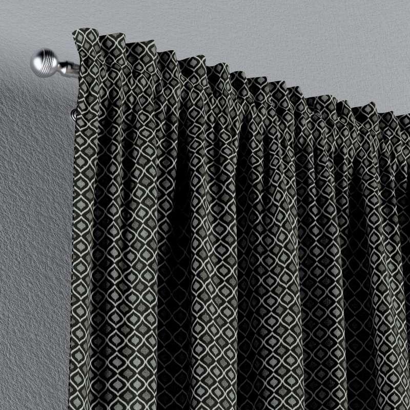 Gardin med løbegang - multibånd 1 stk. fra kollektionen Black & White, Stof: 142-86