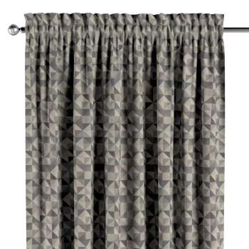 Vorhang mit Tunnel und Köpfchen von der Kollektion Retro Glam, Stoff: 142-84