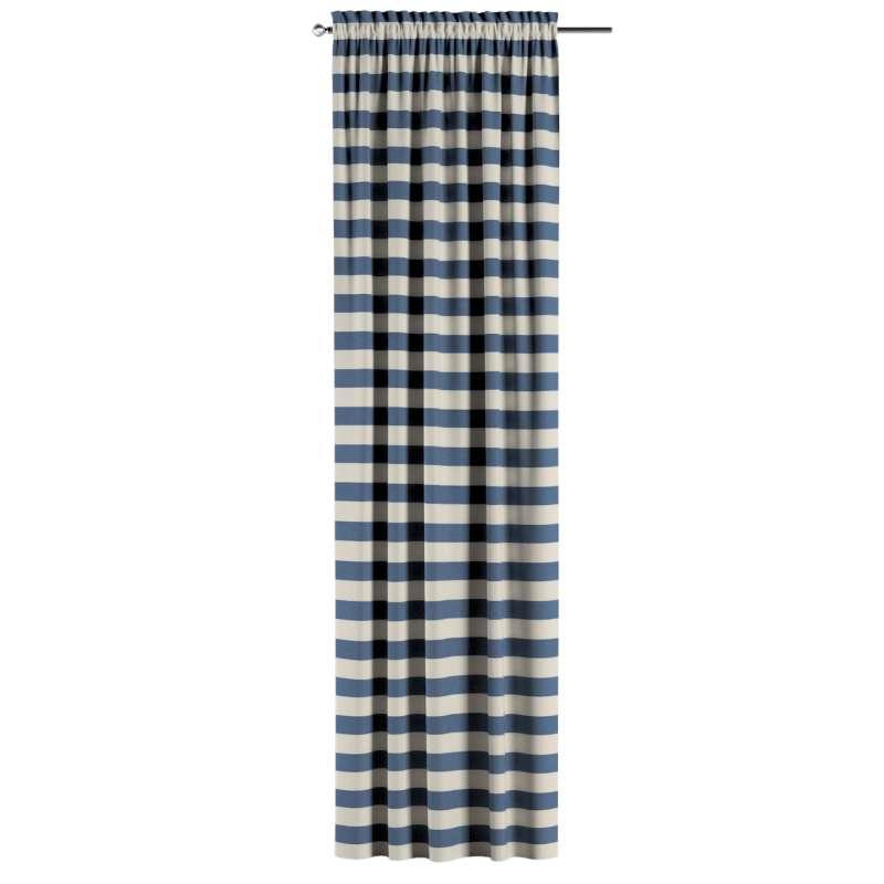 Záves s navliekacou riasiacou páskou V kolekcii Quadro, tkanina: 142-70