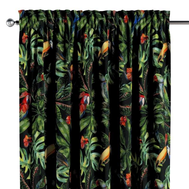 Záves s navliekacou riasiacou páskou V kolekcii Velvet, tkanina: 704-28