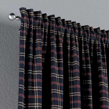 Zasłona na kanale z grzywką 1 szt. w kolekcji Bristol, tkanina: 142-68