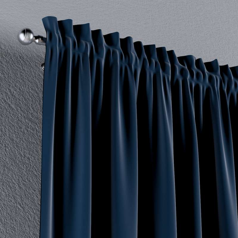 Slot and frill curtains in collection Posh Velvet, fabric: 704-29