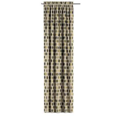 Zasłona na kanale z grzywką 1 szt. w kolekcji Modern, tkanina: 142-99