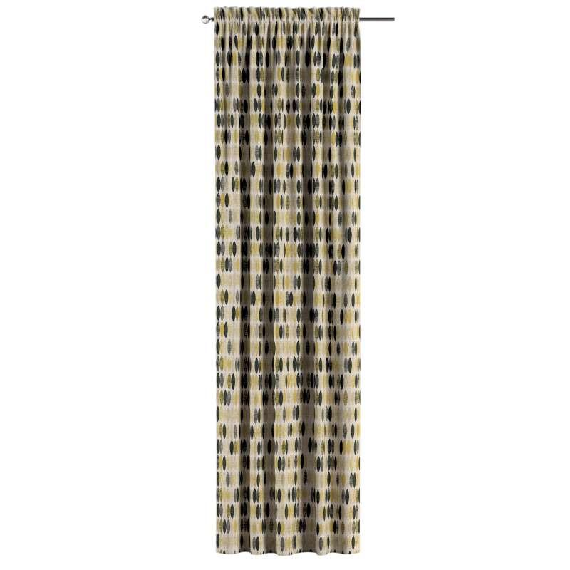 Záves s navliekacou riasiacou páskou V kolekcii Modern, tkanina: 142-99