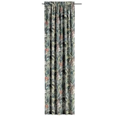 Zasłona na kanale z grzywką 1 szt. w kolekcji Abigail, tkanina: 143-08