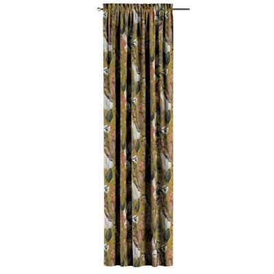 Záves s navliekacou riasiacou páskou V kolekcii Abigail, tkanina: 143-09