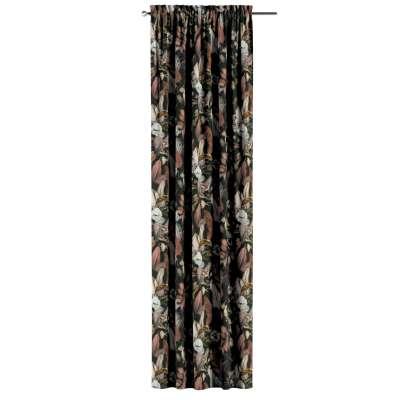 Zasłona na kanale z grzywką 1 szt. w kolekcji Abigail, tkanina: 143-10
