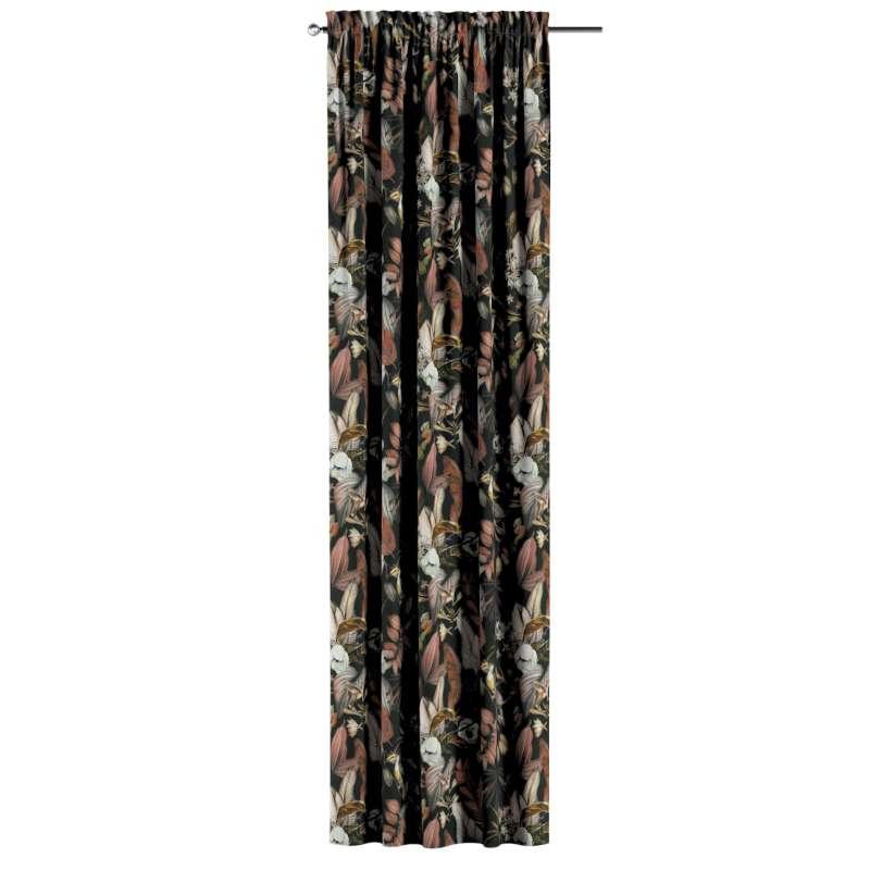 Záves s navliekacou riasiacou páskou V kolekcii Abigail, tkanina: 143-10