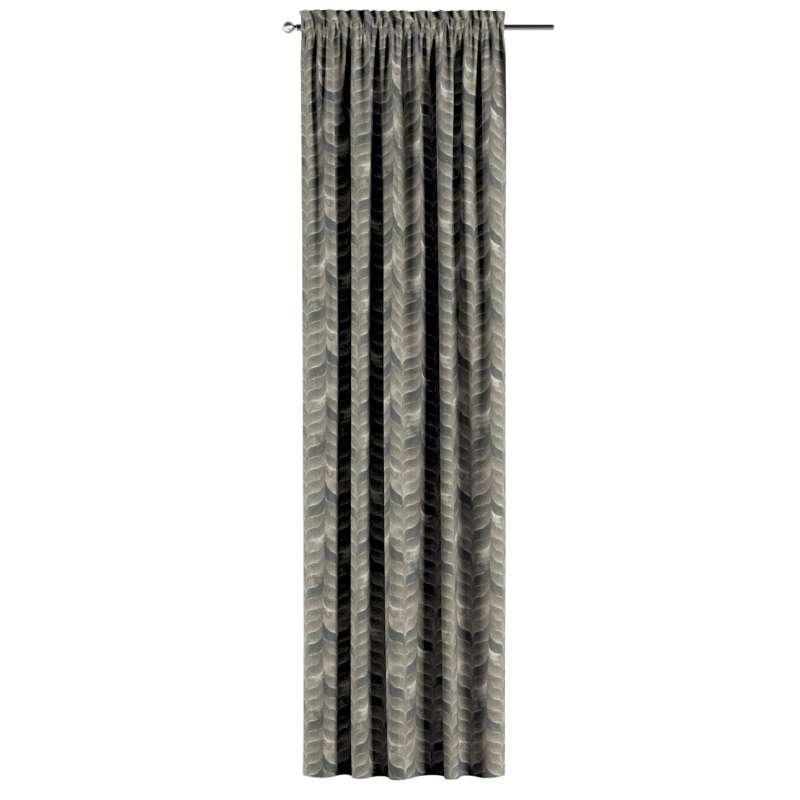 Záves s navliekacou riasiacou páskou V kolekcii Abigail, tkanina: 143-12