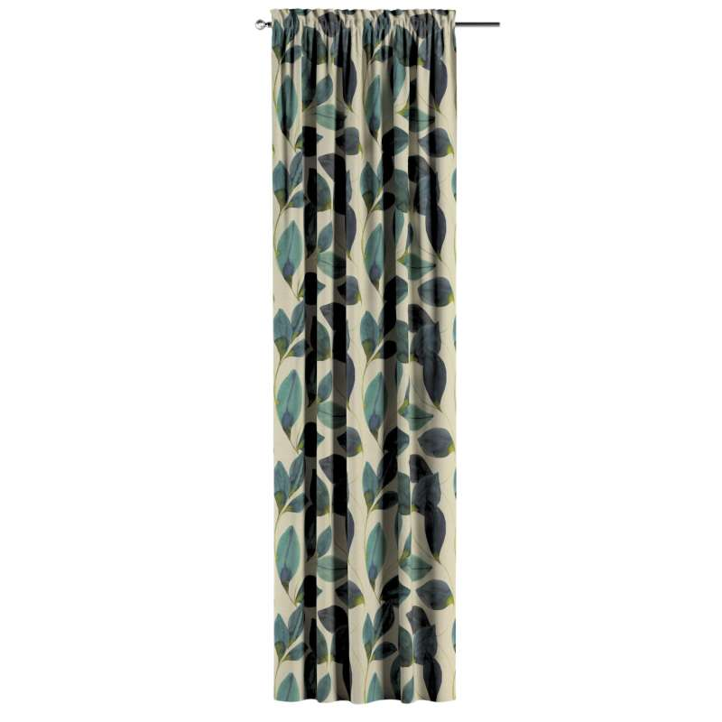 Záves s navliekacou riasiacou páskou V kolekcii Abigail, tkanina: 143-15