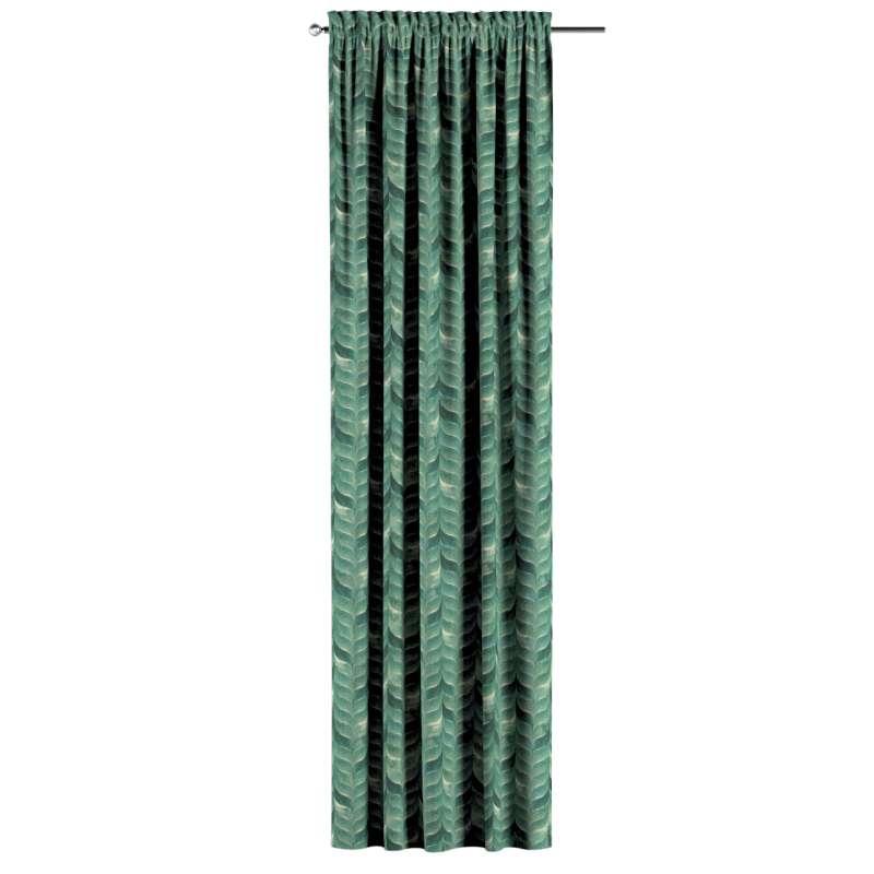 Záves s navliekacou riasiacou páskou V kolekcii Abigail, tkanina: 143-16