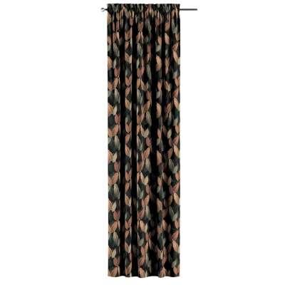 Zasłona na kanale z grzywką 1 szt. w kolekcji Abigail, tkanina: 143-21