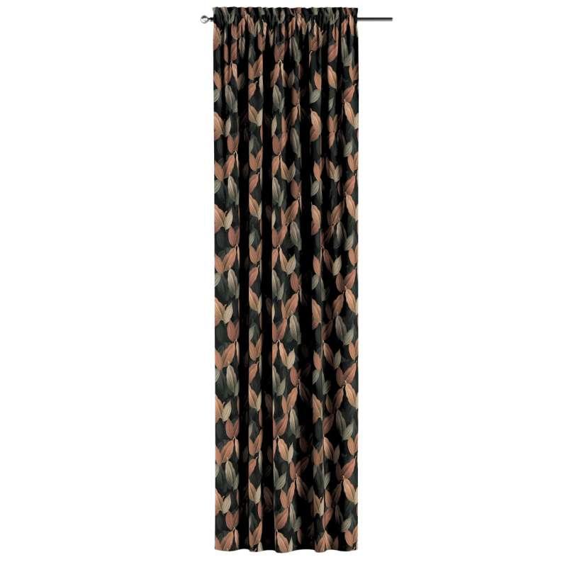 Záves s navliekacou riasiacou páskou V kolekcii Abigail, tkanina: 143-21