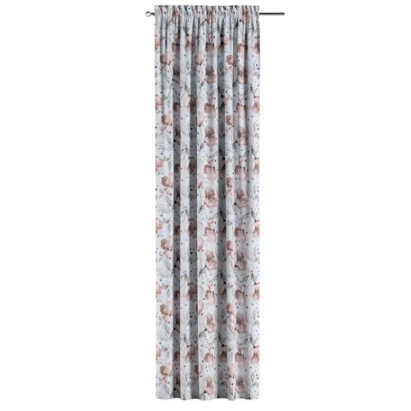 Záves s navliekacou riasiacou páskou V kolekcii Velvet, tkanina: 704-50