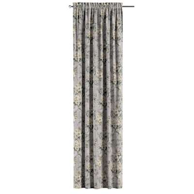 Zasłona na kanale z grzywką 1 szt. w kolekcji Londres, tkanina: 143-36