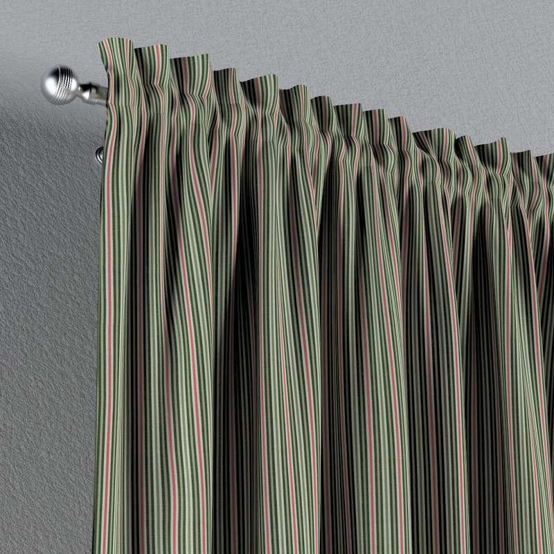 Zasłona na kanale z grzywką 1 szt. w kolekcji Londres, tkanina: 143-42