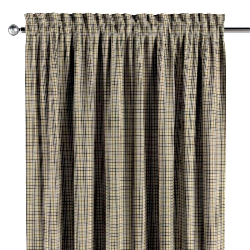 Záves s navliekacou riasiacou páskou V kolekcii Londres, tkanina: 143-39