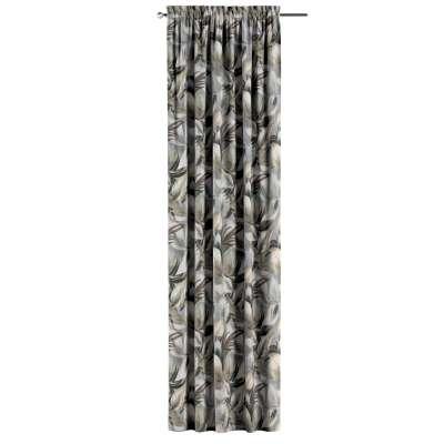 Záves s navliekacou riasiacou páskou V kolekcii Abigail, tkanina: 143-60