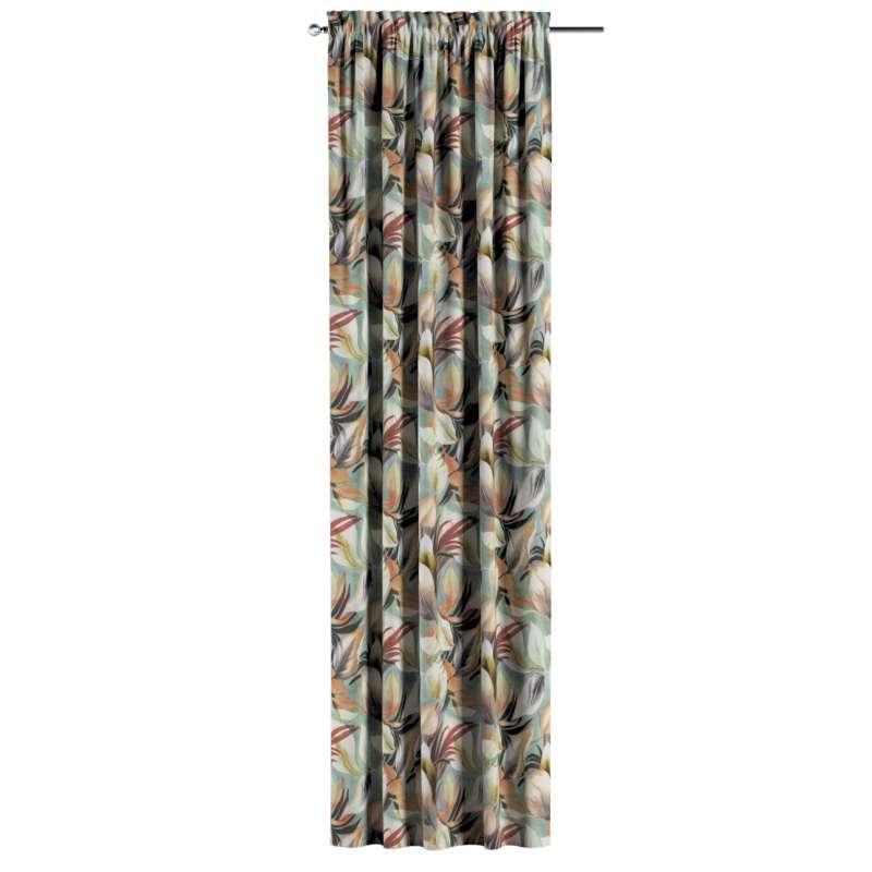 Záves s navliekacou riasiacou páskou V kolekcii Abigail, tkanina: 143-61