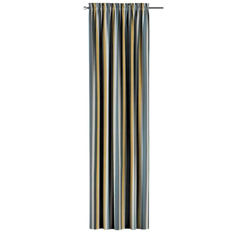 Záves s navliekacou riasiacou páskou V kolekcii Vintage 70's, tkanina: 143-59