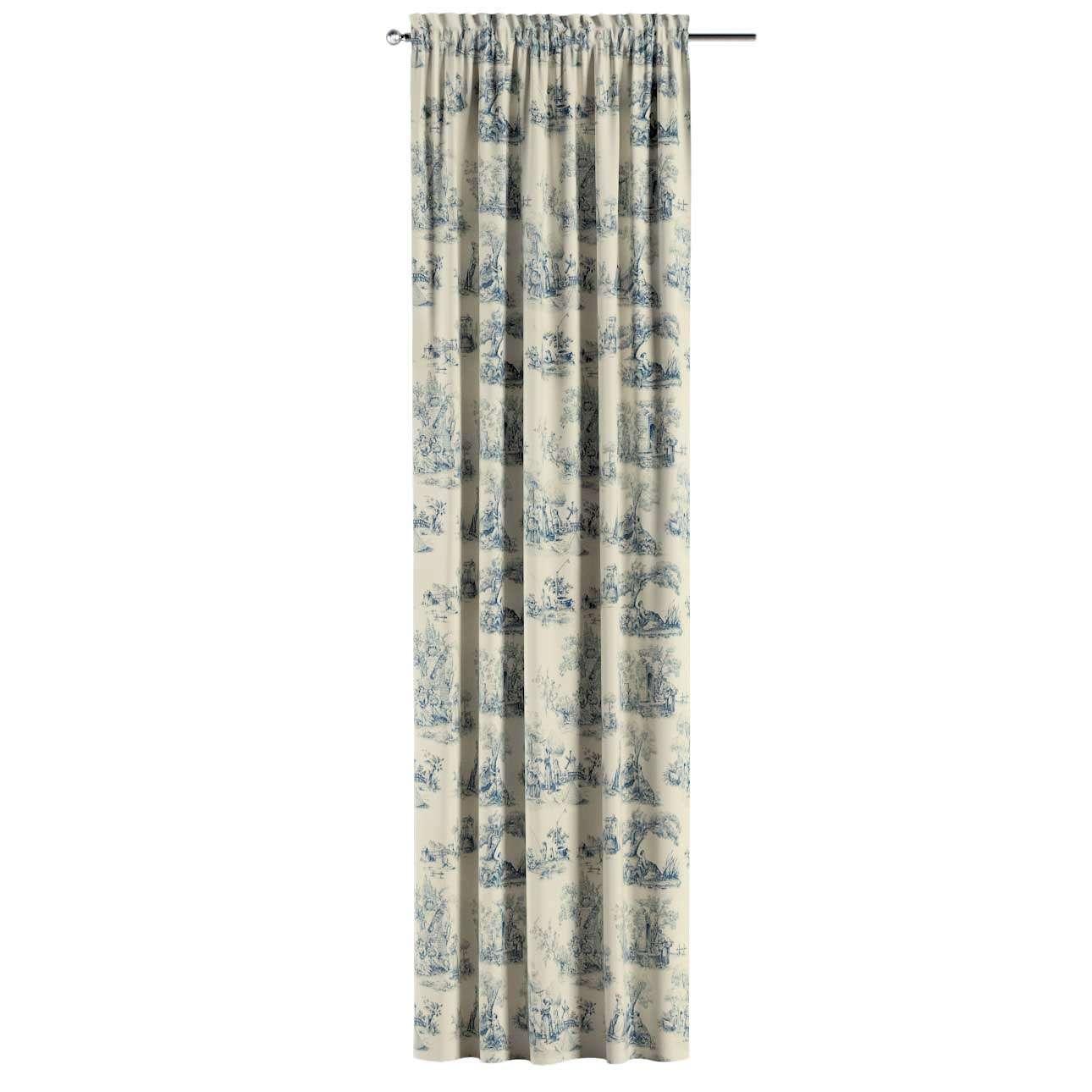 Záves s navliekacou riasiacou páskou 130 × 260 cm V kolekcii Avinon, tkanina: 132-66