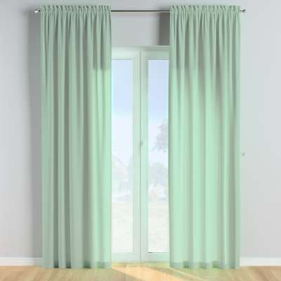 Slot and frill curtains in collection Happiness, fabric: 133-61