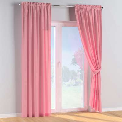 Slot and frill curtains in collection Happiness, fabric: 133-62