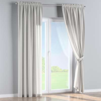 Slot and frill curtains in collection Nature, fabric: 159-06