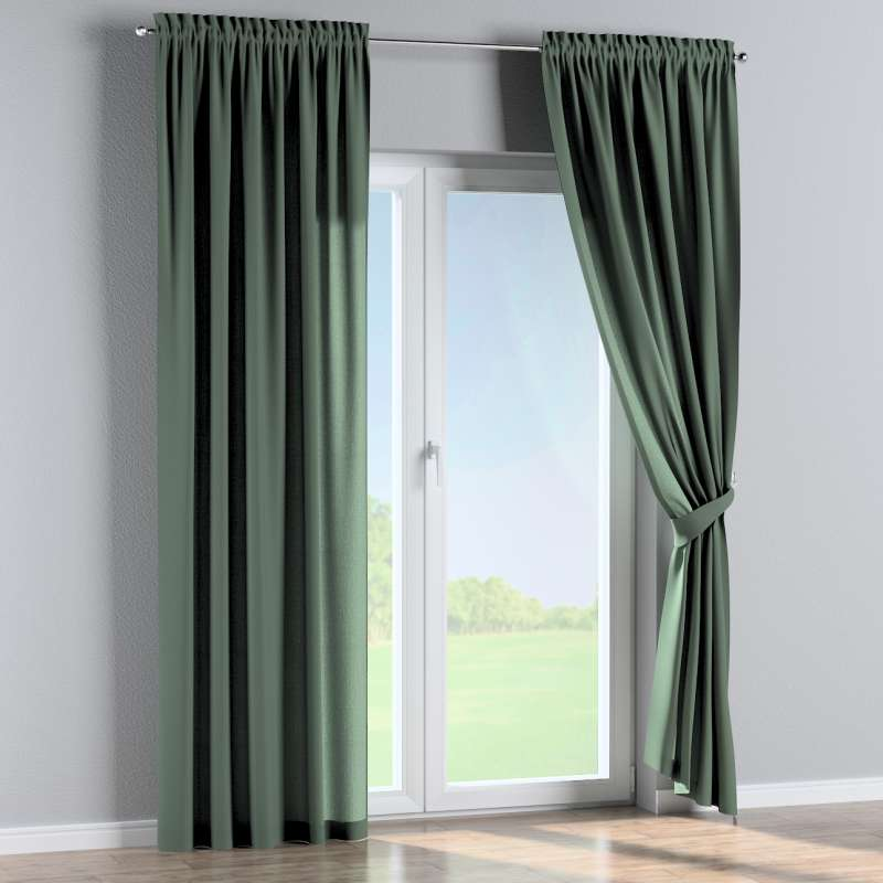 Slot and frill curtains in collection Nature, fabric: 159-08