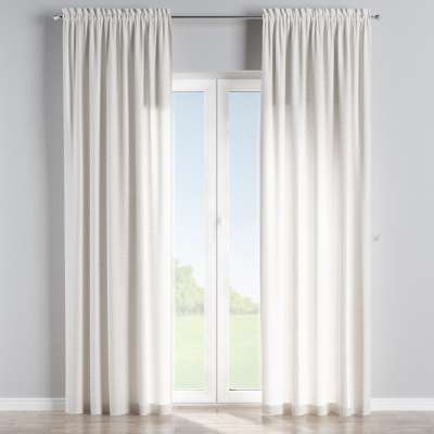 Slot and frill curtains in collection Nature, fabric: 392-04