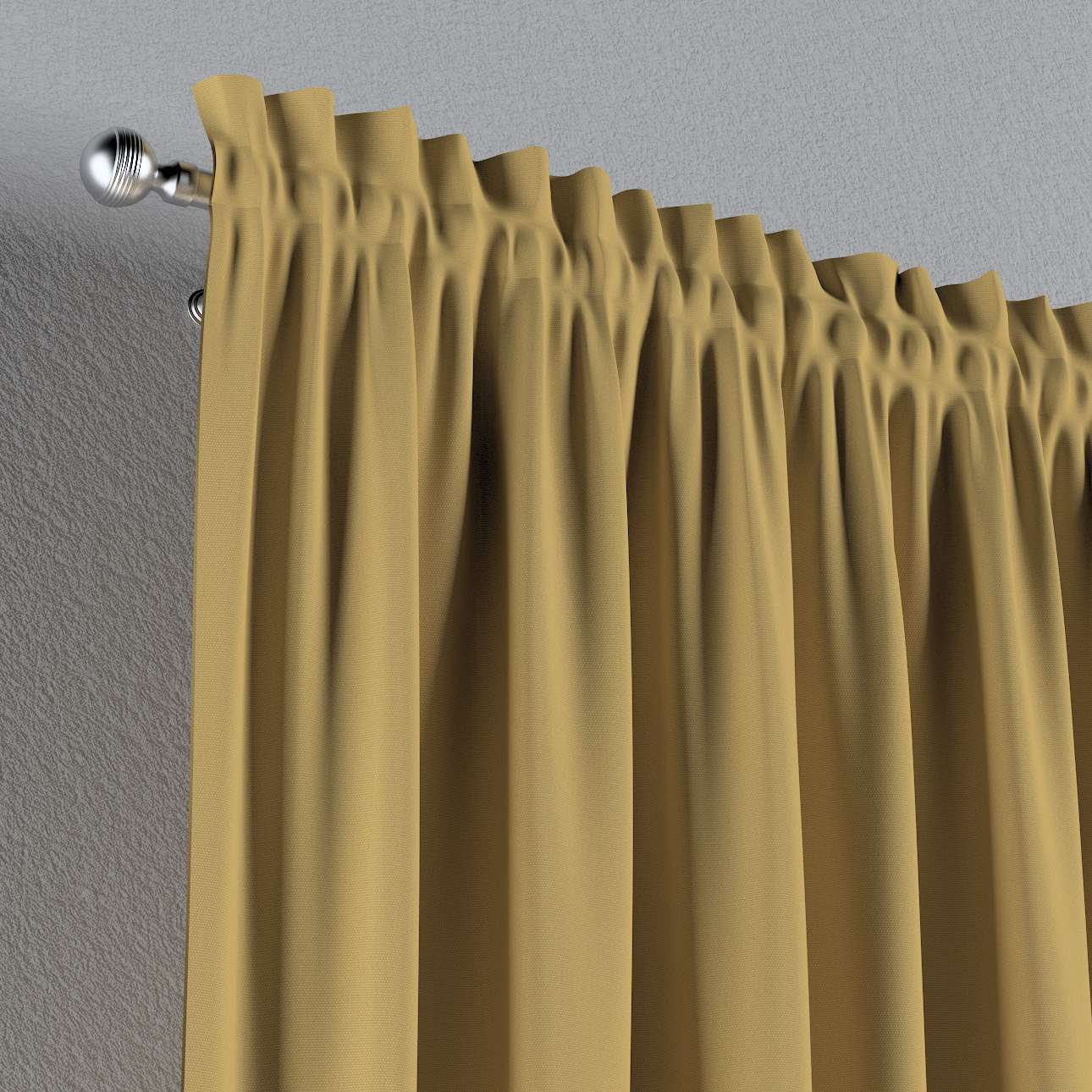Záves s navliekacou riasiacou páskou V kolekcii Cotton Panama, tkanina: 702-41