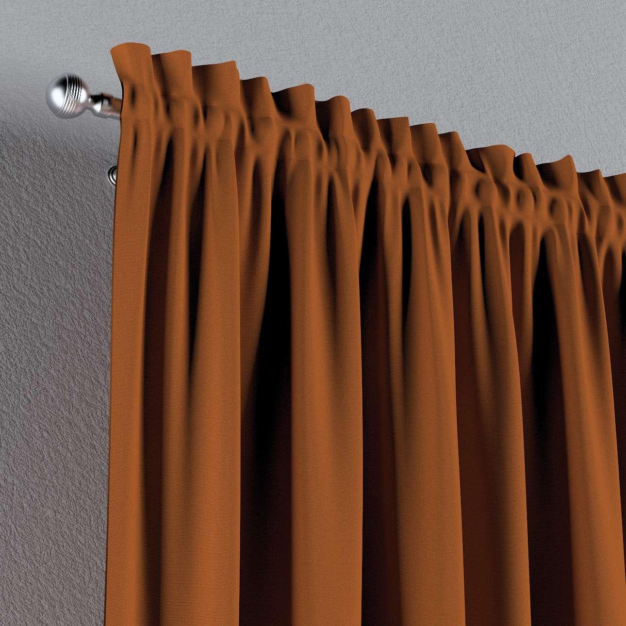 Záves s navliekacou riasiacou páskou V kolekcii Cotton Panama, tkanina: 702-42