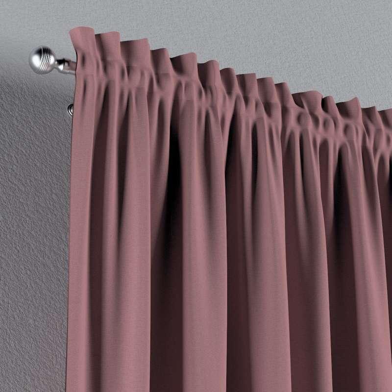 Záves s navliekacou riasiacou páskou V kolekcii Cotton Panama, tkanina: 702-43