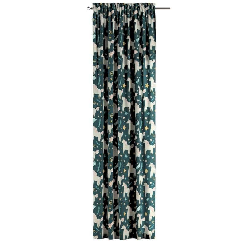 Závěs s tunelem s kanýrem 1 ks v kolekci Magic Collection, látka: 500-43