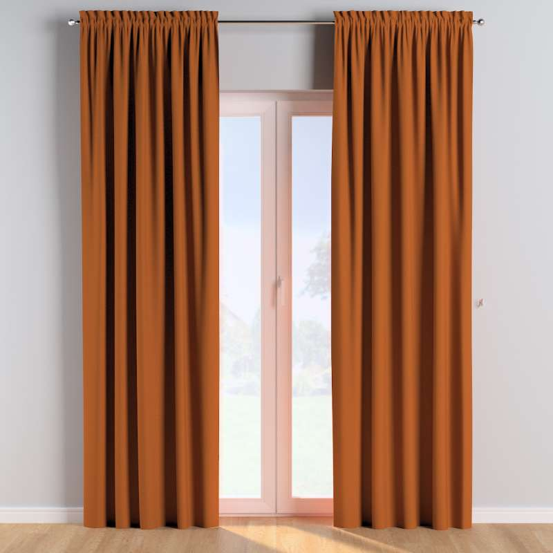 Slot and frill curtains in collection Cotton Story, fabric: 702-42