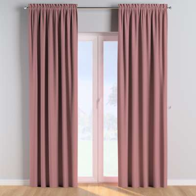 Slot and frill curtains 702-43 dirty pink Collection Cotton Story