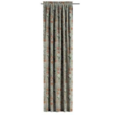 Záves s navliekacou riasiacou páskou V kolekcii Flowers, tkanina: 143-70