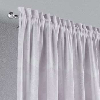 Slot and frill curtains in collection Damasco, fabric: 613-00