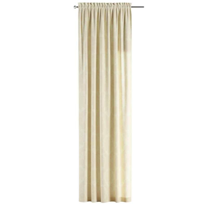 Záves s navliekacou riasiacou páskou V kolekcii Damasco, tkanina: 613-01